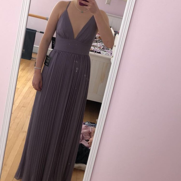 b20a2afd16 Lulu s Dresses   Skirts - Lulus Depths of my Love light purple maxi dress
